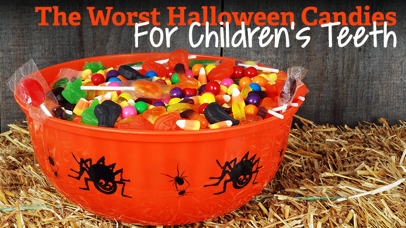 What are The Worst Halloween Candies for Children's Teeth?