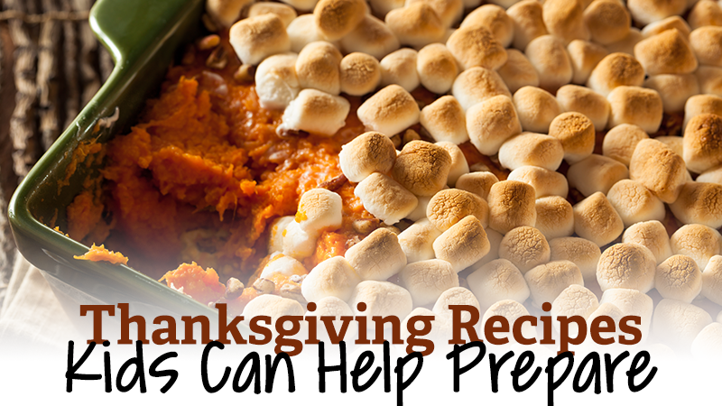 Thanksgiving Recipes Kids Can Help Prepare