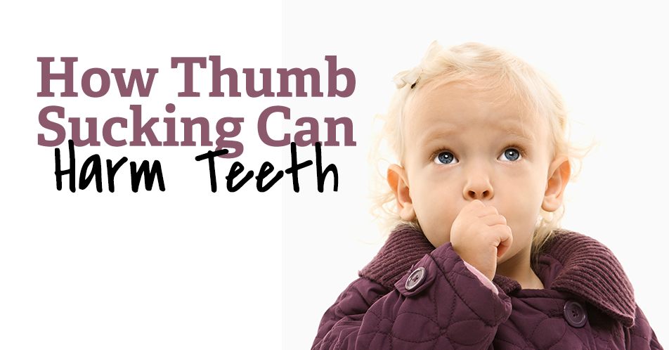 How Thumb Sucking Can Harm Teeth