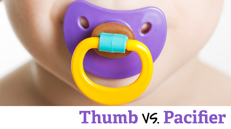 Is Sucking a Thumb or a Pacifier Better?