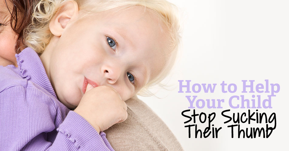 How to Help Your Child Stop Sucking Their Thumb